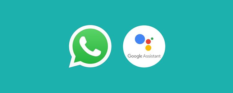 whatsapp en google assistent