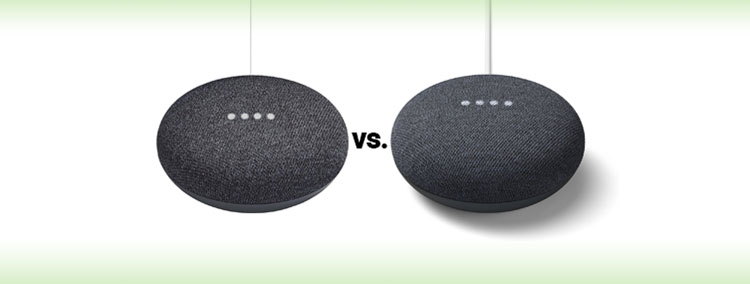 google nest mini vs google home mini