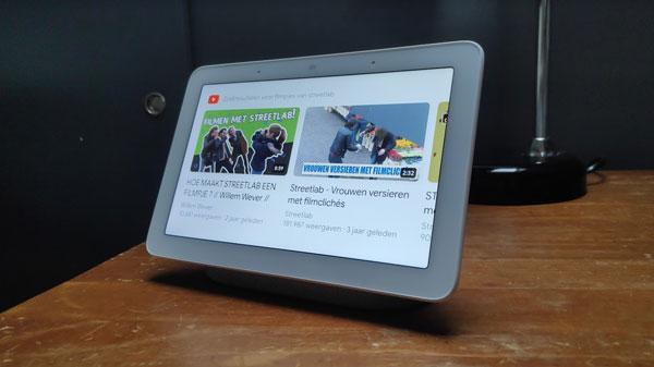 youtube filmpjes kijken op smart display
