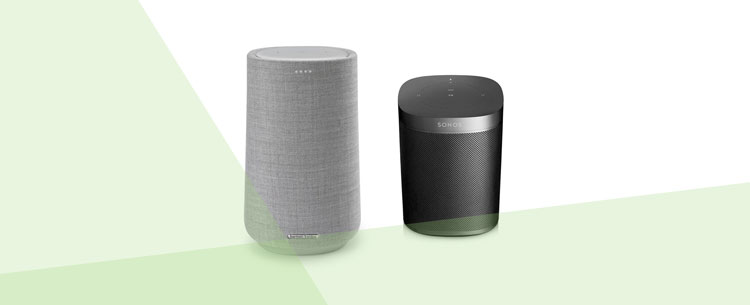 vergelijking sonos one harman kardon citation 100