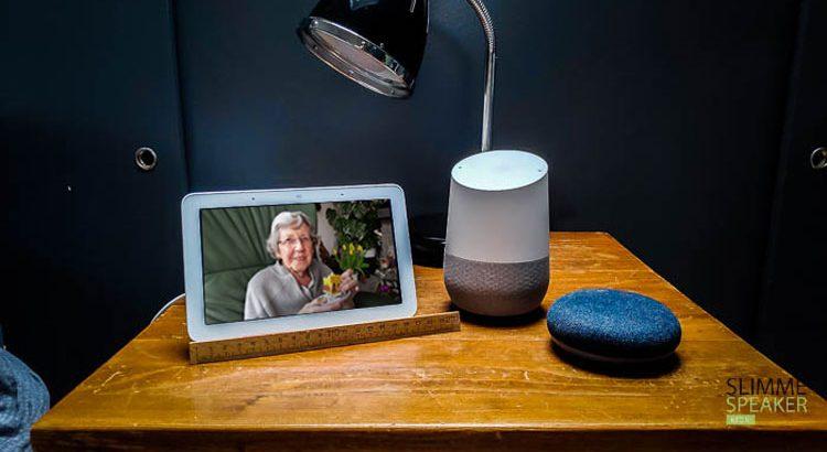 slimme speaker voor ouderen