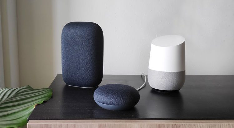 google nest home slimme speakers